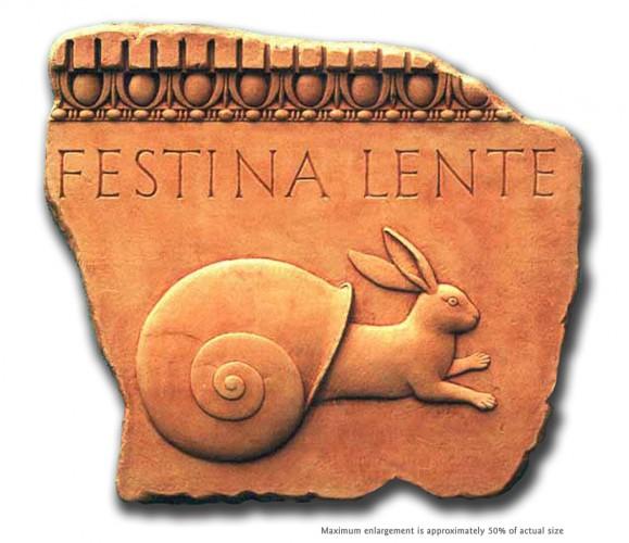 FestinaLenteCorrect