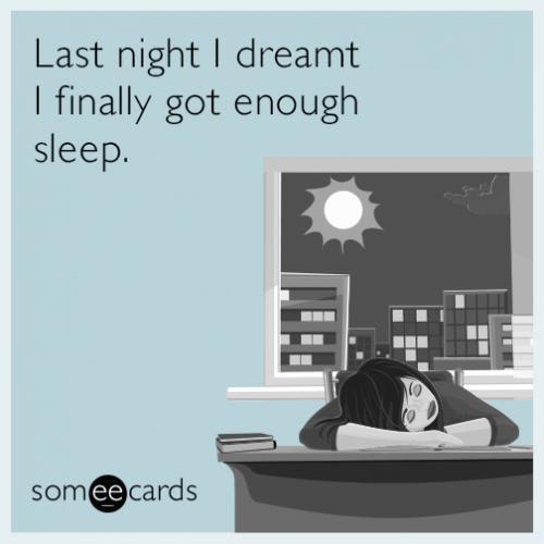 """""""Aną naktį sapnavau, kad pagaliau išsimiegojau"""" - taip mes jaučiamės"""