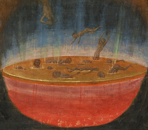 Iš  Les visions du chevalier tondal, apie 1470 m.