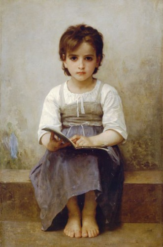 "William Adolphe Bouguereau — ""Sunki pamoka"""
